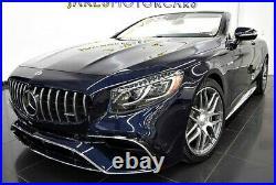 2018 Mercedes-Benz S-Class S63 AMG Cabriolet DESIGNO$201,395 MSRP3900 MILES