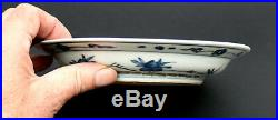 Antique Chinese Porcelain Blue & White Dish Ming Dynasty Private Collection (3)