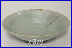 CCVP39 Chinese Antique blue white porcelain yingaing bowl Song dynasty