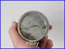 C. 15th Antique Chinese Blue & White Ming Porcelain Jarlet Jar