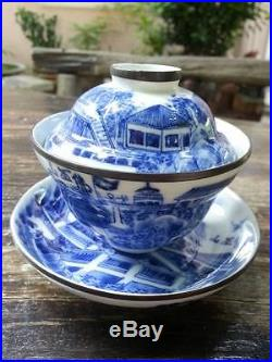 Chinese Porcelain Kangxi Tea Cup Blue&White Teacup with Marked