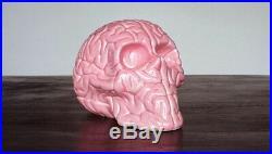 Emilio Garcia Porcelain Skull Brain- KAWS Kolin. Tribu black pink blue white