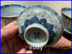 Estate Collection Chinese Antique Porcelain Qing Dynasty Blue and White Bowl