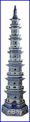 Festcool 47 Classic Blue and White Porcelain Pagoda, Jingdezhen