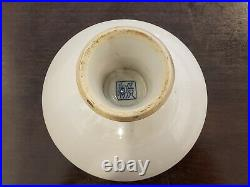 Fine Chinese Handpainted Blue &White Porcelain Plate