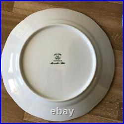 Lovely Vista Alegre Manueline Blue Dinner Plates Set of 8