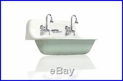 NEW Kohler Brockway 36 Farm Sink Green Blue Cast Iron Porcelain Trough Sink