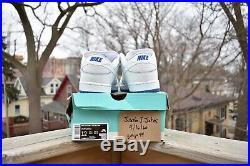 Nike Sb Dunk Low Pro Premium Sz 12 White Porcelain Game Royal Cj6884-100