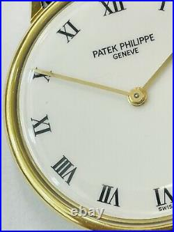 Patek Philippe Ref 2592 Yellow Gold With Wonderful Porcelain Dial (797)