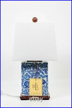 Ralph Lauren RLL Dragon White and Blue Table Lamp / Chinese Porcelain Lamp