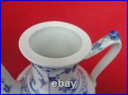 Royal Copenhagen Blue Fluted 517 Coffee Pot