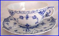 Royal Copenhagen Blue and White Half Laced Porcelain China