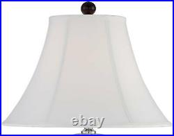 Traditional Table Lamp Porcelain Blue and White Jar for Living Room Bedroom